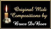 Original Midi Compositions by Bruce De Boer